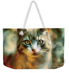 The Cat Eyes Weekender Tote Bag