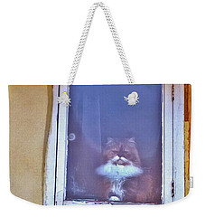 The Cat In The Window Weekender Tote Bag