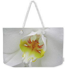 The Cat Side Of An Orchid Weekender Tote Bag