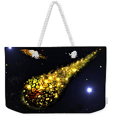 Weekender Tote Bag featuring the digital art The Catalyst by Vincent Autenrieb