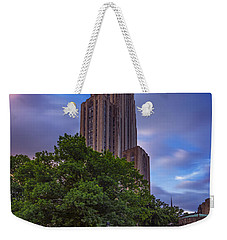 The Cathedral Of Learning Weekender Tote Bag by Rick Berk