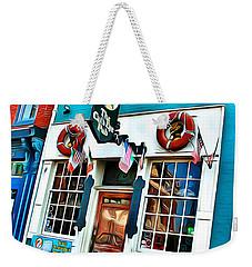 The Cat's Eye Pub Weekender Tote Bag