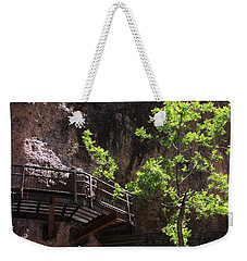 The Catwalk Weekender Tote Bag by Natalie Ortiz