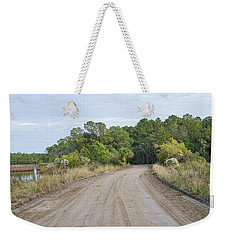The Causway On Chisolm Island Weekender Tote Bag by Scott Hansen