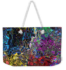 The Caverns Of Kwoong Weekender Tote Bag by Mark Blauhoefer