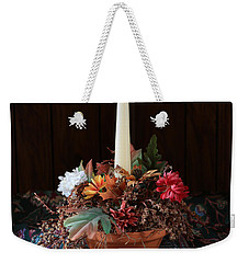 Weekender Tote Bag featuring the photograph The Centerpiece by Rick Morgan