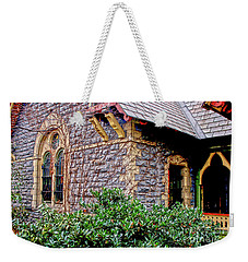 Weekender Tote Bag featuring the photograph Central Park Dairy Cottage by Sandy Moulder