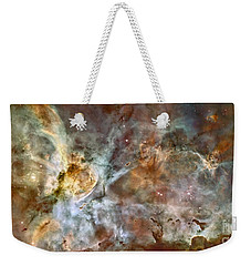 The Central Region Of The Carina Nebula Weekender Tote Bag