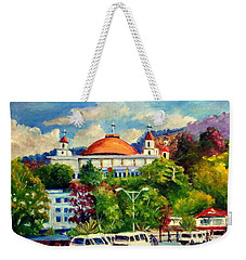 The Central Taxi Terminal In Jayapura Weekender Tote Bag