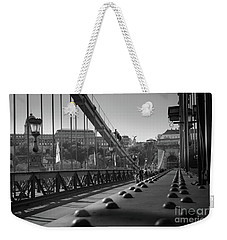 The Chain Bridge, Danube Budapest Weekender Tote Bag