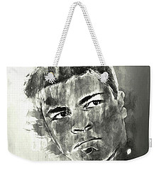 The Champ Monochrome Weekender Tote Bag by Jack Torcello