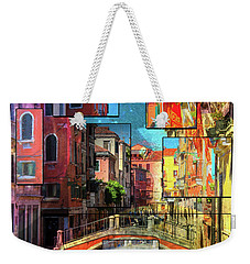 The Channel Weekender Tote Bag