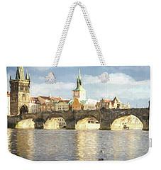 The Charles Bridge Weekender Tote Bag