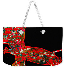 Hidden Messages Weekender Tote Bag