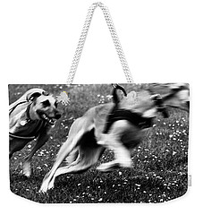The Chasing Game. Ava Loves Being Weekender Tote Bag