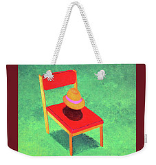 The Chat Weekender Tote Bag by Thomas Blood