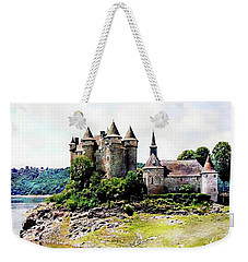 The Chateau De Val Weekender Tote Bag by Joseph Hendrix