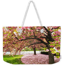 The Cherry Tree Weekender Tote Bag