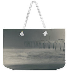 Weekender Tote Bag featuring the photograph The Chill In My Bones by Laurie Search