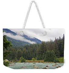The Chillkoot River 2 Weekender Tote Bag