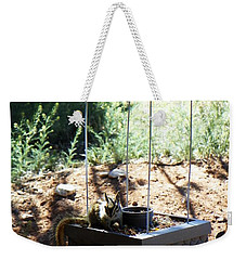 The Chipmunk And The Well Weekender Tote Bag