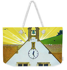 Weekender Tote Bag featuring the photograph The Church Bell by LemonArt Photography