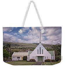 The Church Weekender Tote Bag by Jim Thompson