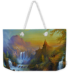 The Citadel Under The Moon Weekender Tote Bag