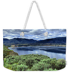 The City And The Clouds Weekender Tote Bag by Tara Turner