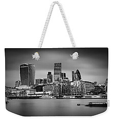 The City Of London Mono Weekender Tote Bag