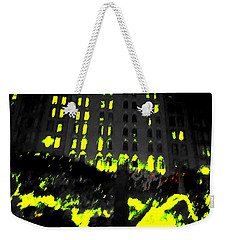 The City Weekender Tote Bag by Nature Macabre Photography