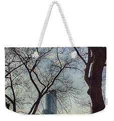 The City Through The Trees Weekender Tote Bag