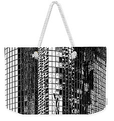 Weekender Tote Bag featuring the photograph The City Within by Az Jackson