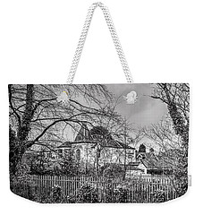 Weekender Tote Bag featuring the photograph The Claremont by Jeremy Lavender Photography