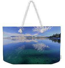 The Clarity Of Winter Weekender Tote Bag by Sean Sarsfield