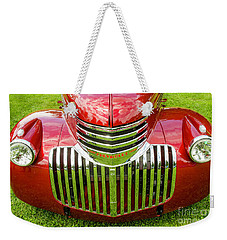 Weekender Tote Bag featuring the photograph The Classic by Nick Boren