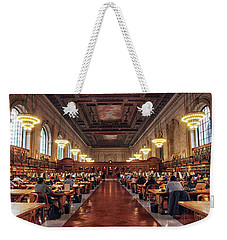 Weekender Tote Bag featuring the photograph The Classic Rose Room by Jessica Jenney