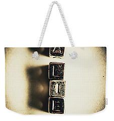 The Classified Alien Lie Weekender Tote Bag