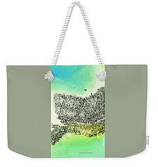 The Cliffs Weekender Tote Bag by Lenore Senior