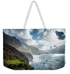 The Cliffs Of Kalalau Weekender Tote Bag