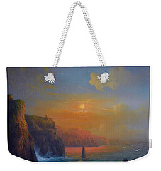 Ireland The Cliffs Of Moher  Weekender Tote Bag by Joe Gilronan