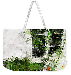 Weekender Tote Bag featuring the photograph The Climb by Claire Bull