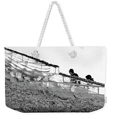 Weekender Tote Bag featuring the photograph The Climbers by John Williams