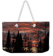 Weekender Tote Bag featuring the photograph The Close Of Day by DeeLon Merritt