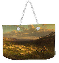 The Closing Day, Scene In Sussex Weekender Tote Bag by George Vicat Cole
