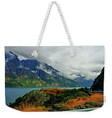 The Clouds Roll In Weekender Tote Bag