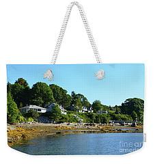 The Coast Of Bibber's Island Weekender Tote Bag by DejaVu Designs