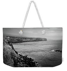 Weekender Tote Bag featuring the photograph The Coast Of Terceira by Kelly Hazel