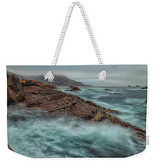 The Coastline Weekender Tote Bag
