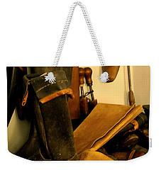 The Cobbler Weekender Tote Bag by Ian  MacDonald